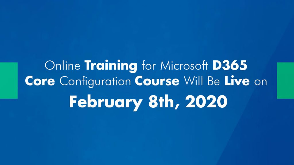 Online Training for Microsoft D365