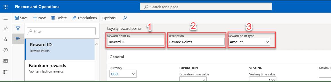 STEP 3: Enter Your Reward Points Information