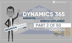 MS Dynamics 365 Inbound Logistics Supply Chain Video Part 2