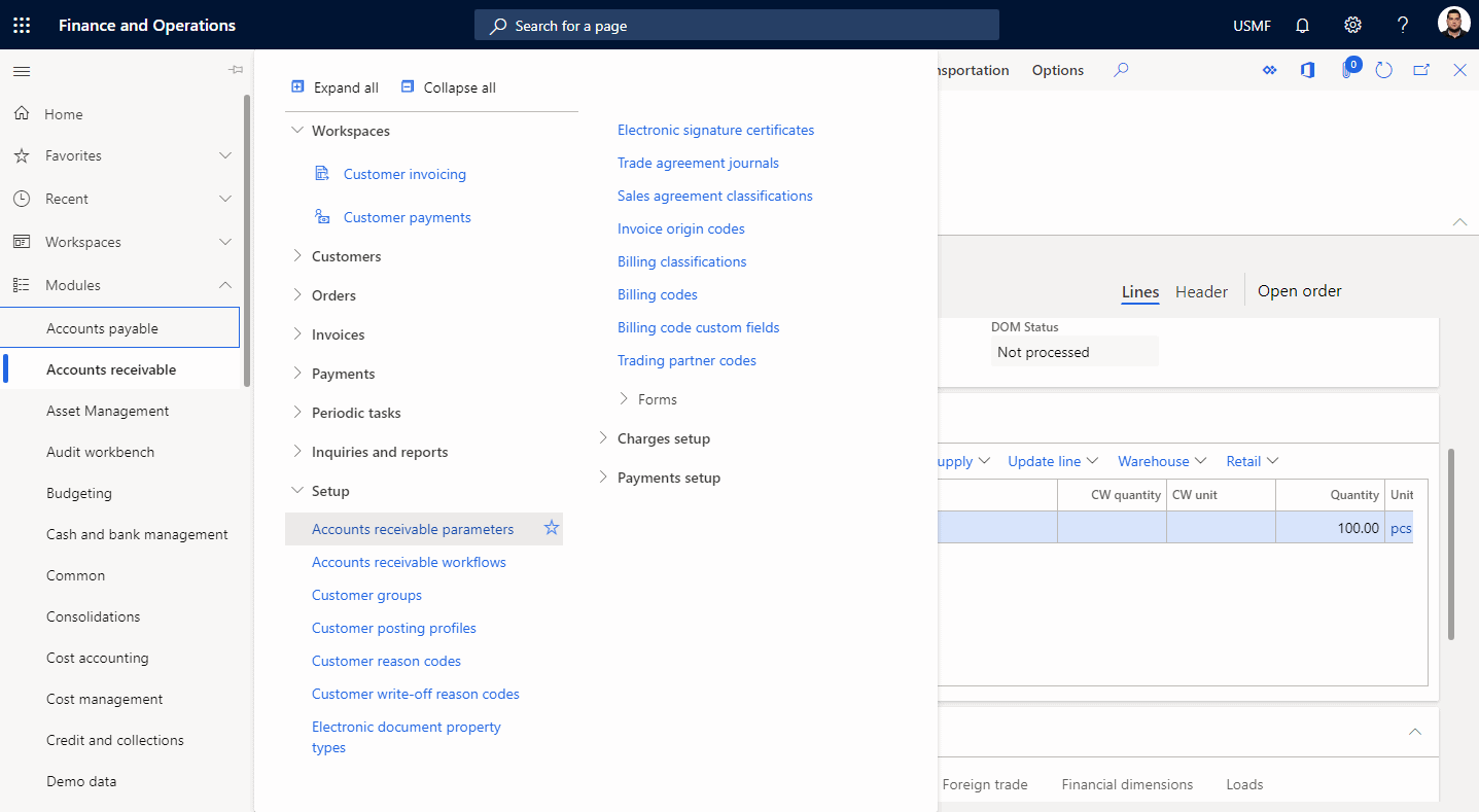 Step 1: Inventory Reservation Process in Dynamics 365