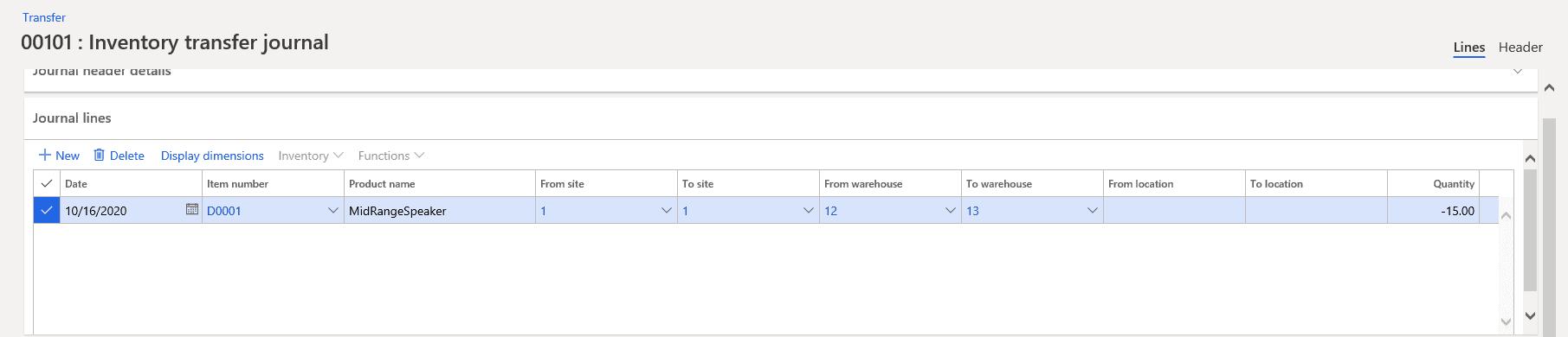 Step 8: Select Desired Item Number