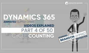Dynamics 365 Inventory Cycle Counting Explained