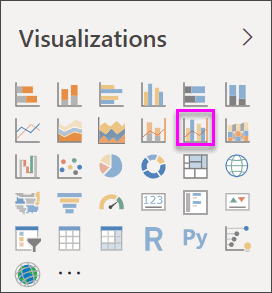 power bi combo charts tutorial