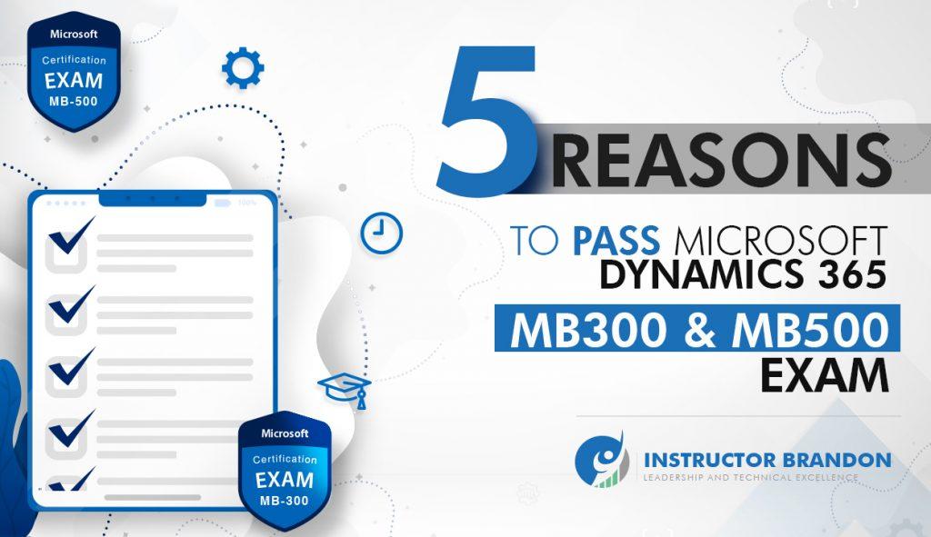 microsoft mb-300 & mb-500 exam