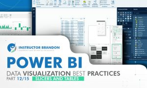 Power BI Data Visualization Practices Part 12 of 15: Slicers and Tables