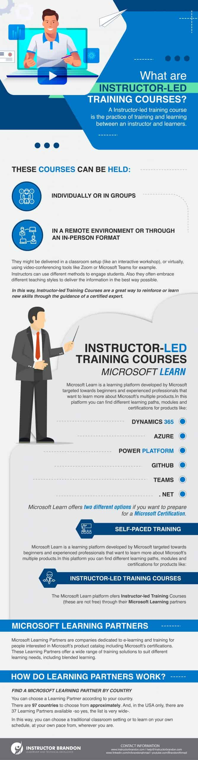 What are Instructor-led Training Courses?
