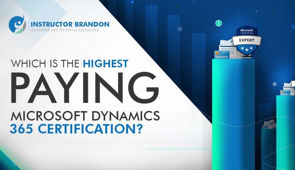 Highest Paying Microsoft Dynamics 365 Certification