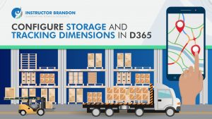 how to ms dynamics 365 tracking and storage dimension