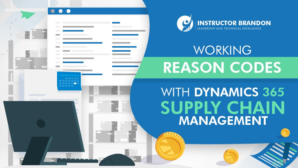 working with reason codes in d365 supply chain management