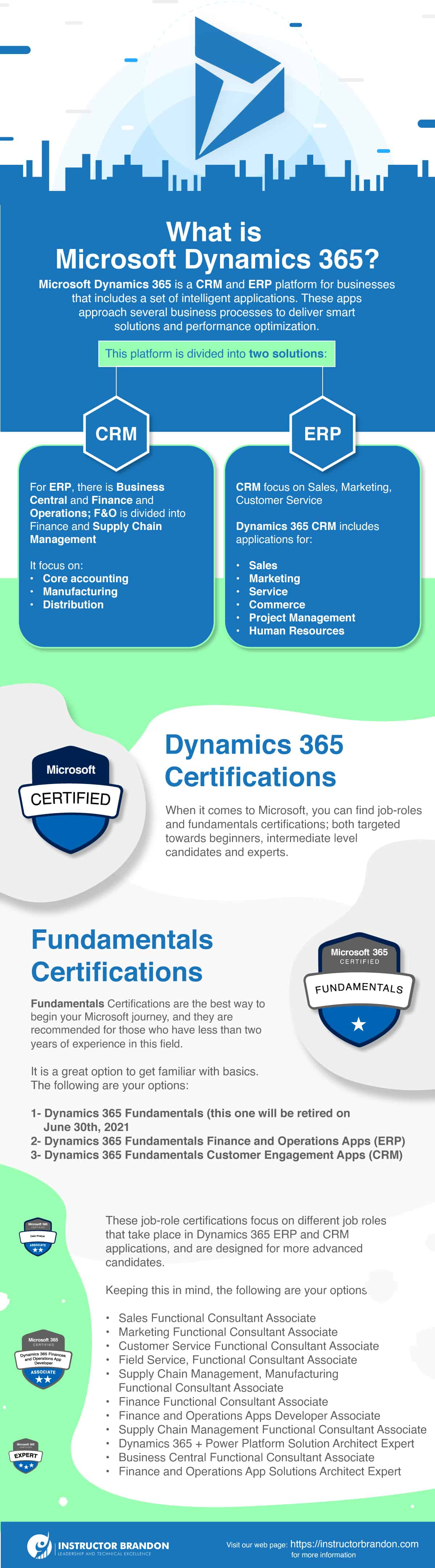 Microsoft Dynamics 365 Certifications