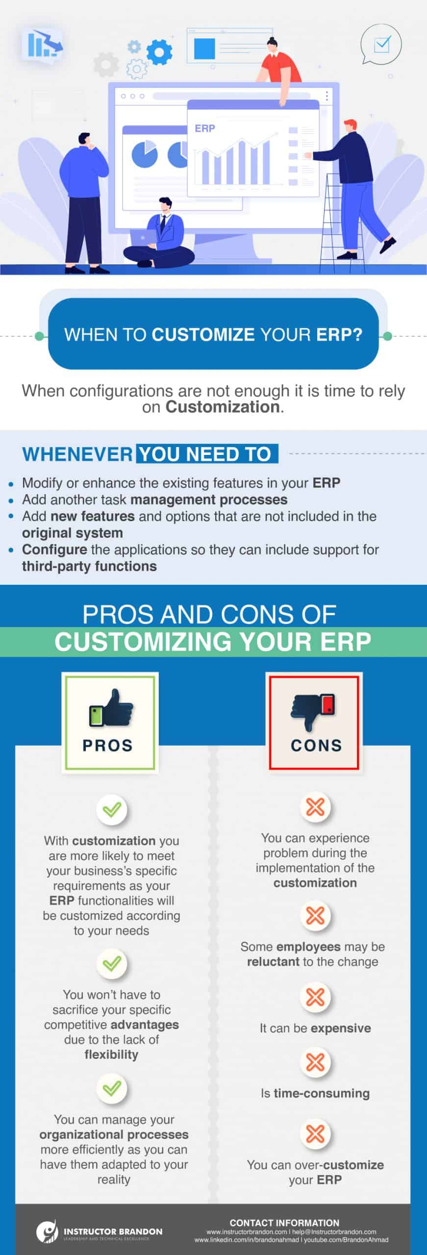 Getting ERP Customization to meet your Strategic Initiatives