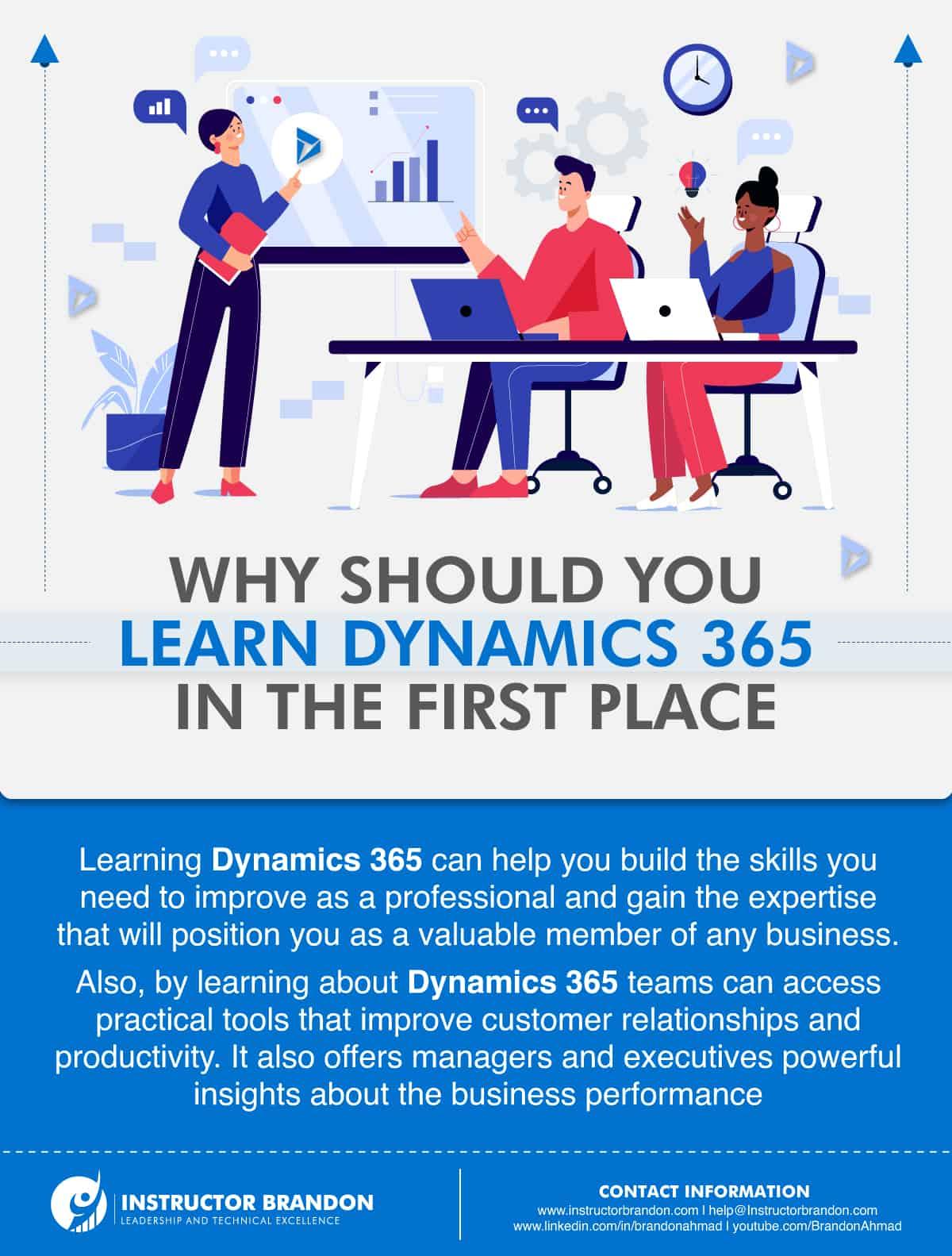 Why should you learn Microsoft Dynamics 365?