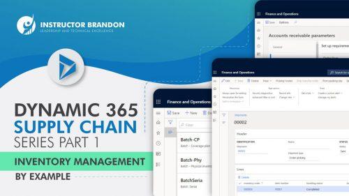 Dynamics 365 Sypply Chain