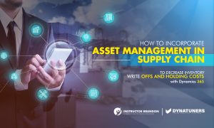 Incorporate Asset Management to decrease Inventory write-offs