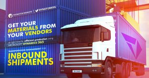 Get Materials from Vendors by D365 Transportation Management
